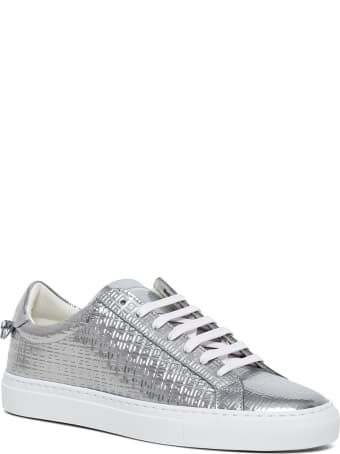 Givenchy Urban Street Metallic Sneakers In 4g Leather