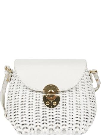 Miu Miu Straw Shoulder Bag