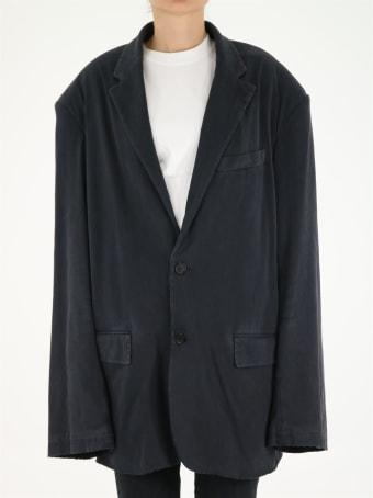 Balenciaga Worn Out Oversized Jacket