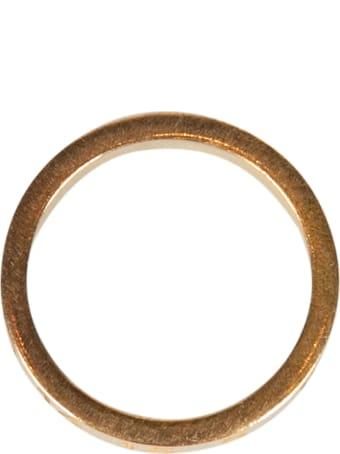 Maison Margiela Carved Number Ring