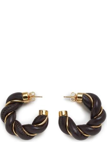Bottega Veneta Earrings Silver Nappa