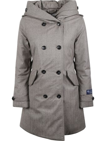 Woolrich Luxury Wool Trench