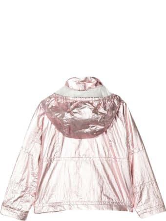 Moncler Metallic Pink Lightweight Jacket