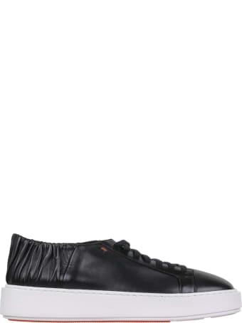 Santoni Santoni Black Low-top Sneaker