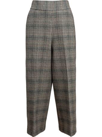 Circolo 1901 Circolo checked culotte trousers