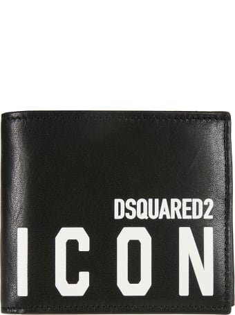 Dsquared2 Icon Print Wallet