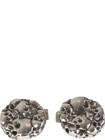 Alexander McQueen Multi Skull Cufflinks