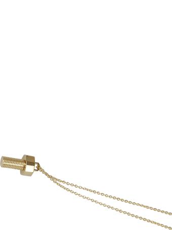 AMBUSH Bolt Charm Necklace