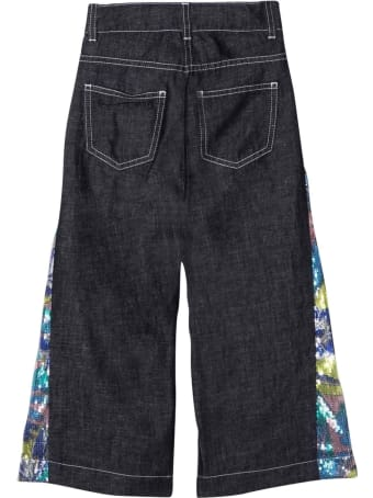 Emilio Pucci Girl Blue Jeans