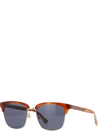 Gucci Gucci Gg0382s Havana Sunglasses