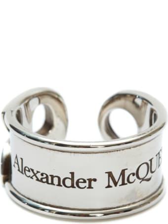 Alexander McQueen Logo Ring