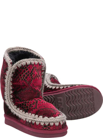 Mou Red Eskimo Boots