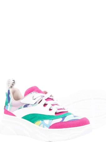 Emilio Pucci Girl Sneakers