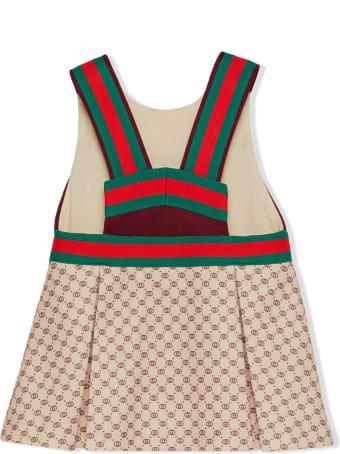Gucci Baby Gg Technical Jersey Dress