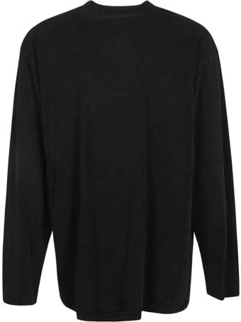 Balenciaga Oversize Printed Longsleeve T-shirt