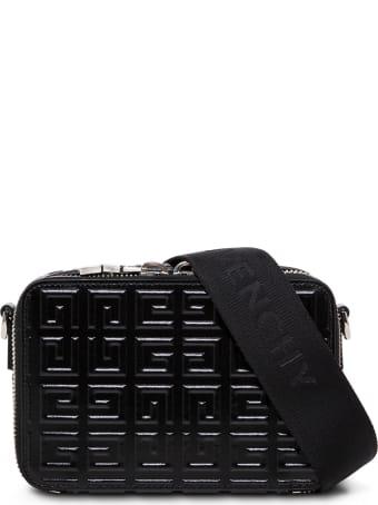 Givenchy Antigona 4g Black Leather Crossbody Bag