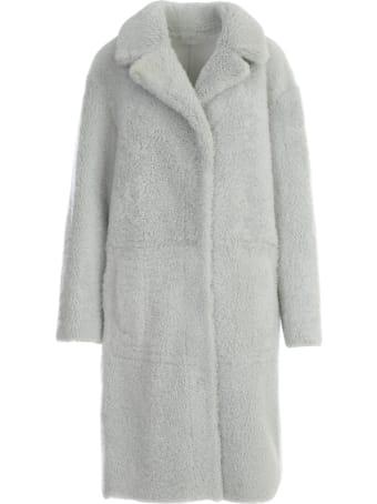 DRM Shearling Midi Coat