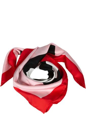 Burberry Icon Stripe Jacquard Silk Foulard