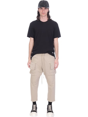 DRKSHDW Pants In Beige Cotton