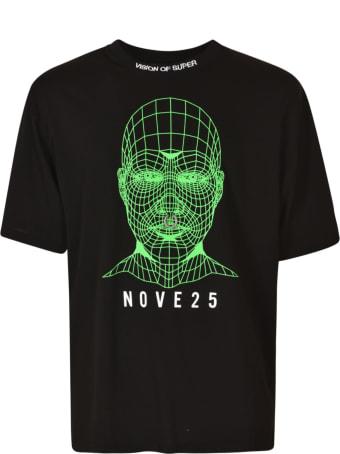 Vision of Super Pierced Head Logo Regular T-shirt