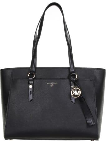 MICHAEL Michael Kors Tote Bag In Black Leather