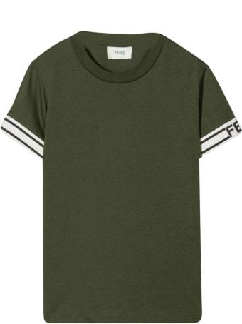 Fendi Green T-shirt