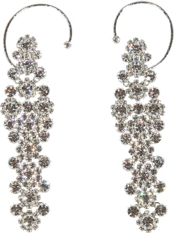 N.21 Crystal-embellished Earrings