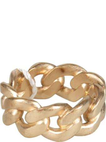 Maison Margiela Polished Chain-ring