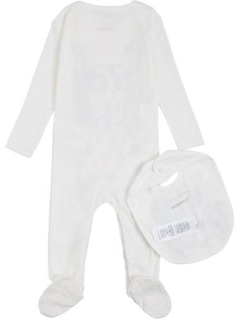 Stella McCartney Kids Dalmatian Cotton Bib And Onesie Suit