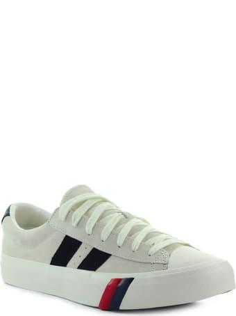 PRO-Keds Royal Plus Cream Suede Sneaker