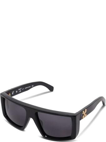 Off-White Black Sunglasses With Logo