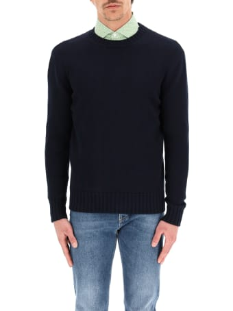 GM77 Cotton Crewneck Sweater