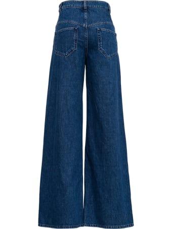 Isabel Marant Lemony Flared Blue Jeans