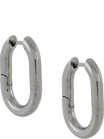 Federica Tosi Earrings In Silver Colored Brass