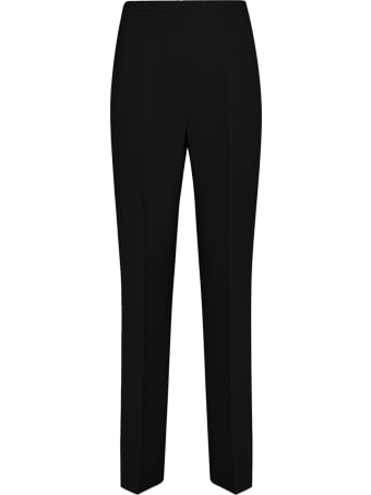 Genny Black High-rise Trousers