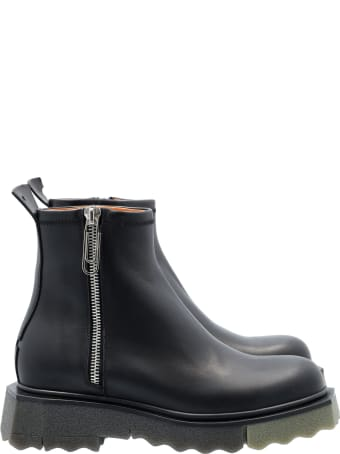 Off-White Off White Sponge Sole Zip Boots