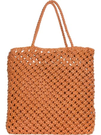 Officine Creative Shopping Bag Amber Colored