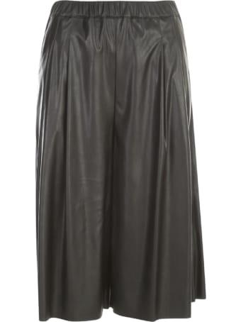 PierAntonioGaspari Stretch Eco Leather Shorts