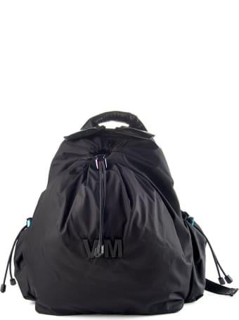 Vic Matié Black Nylon Backpack