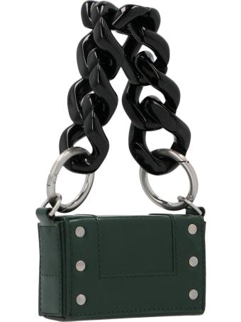 Ami Alexandre Mattiussi 'adc Mini Chain Box' Bag