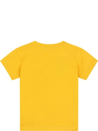 Dolce & Gabbana Yellow Baby T-shirt