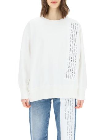MM6 Maison Margiela Printed Crewneck Sweatshirt