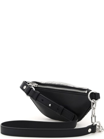Alexander Wang Attica Mini Beltpack Bag With Crystals