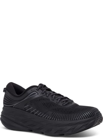 Hoka One One Bondi Black Sneakers