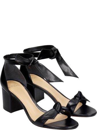 Alexandre Birman Sandals In Black Leather