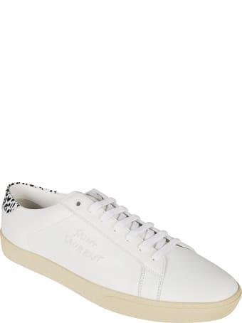 Saint Laurent Sl06 Signa Low Top Sneakers