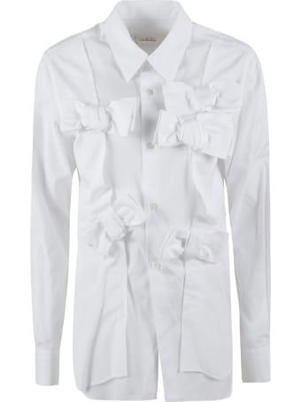 Comme des Garçons Comme des Garçons Bow Detail Buttoned Shirt