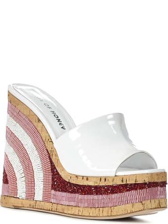 Haus of Honey Lust Bead Sandals