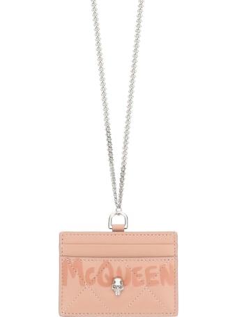 Alexander McQueen Cardholder With Chain