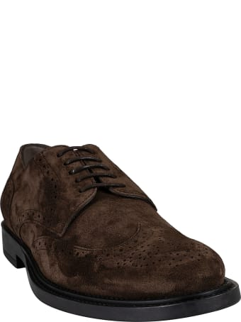Tod's Classic Perforated Derby Shoes